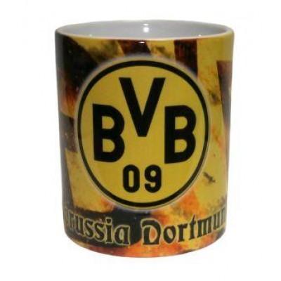 Чашка Боруссия Дортмунд желтая
