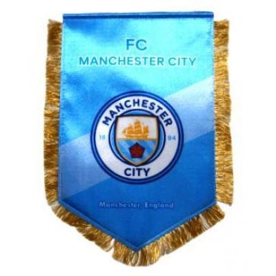 Вымпел Манчестер Сити Англия большой