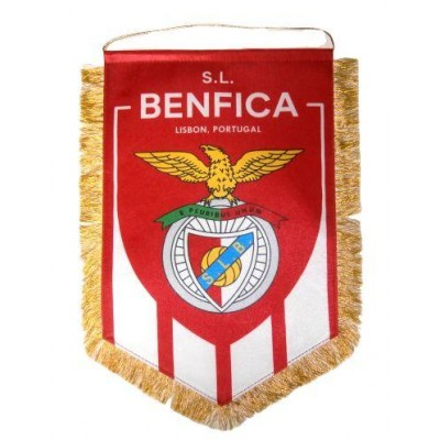 Вымпел Бенфика Португалия большой
