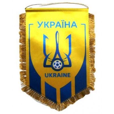 Вымпел национальной сборной Украины по футболу   большой