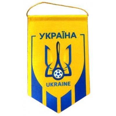 Вымпел национальной сборной Украины по футболу  компакт