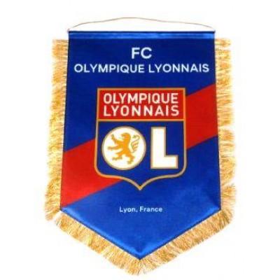 Вымпел Олимпик Лион Франция большой