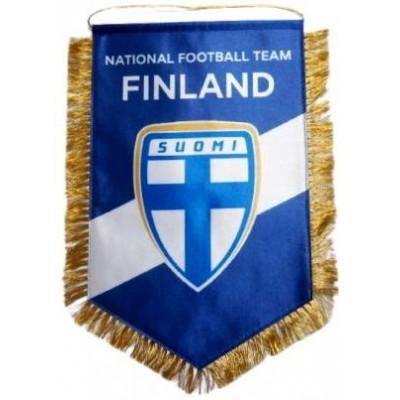 Вымпел национальной сборной Финляндии по футболу   большой