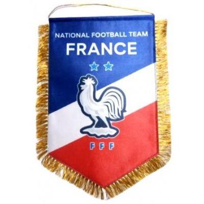 Вымпел национальной сборной Франции по футболу   большой