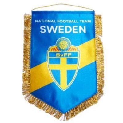 Вымпел национальной сборной Швеции по футболу   большой