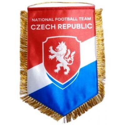 Вымпел национальной сборной Чехии по футболу большой
