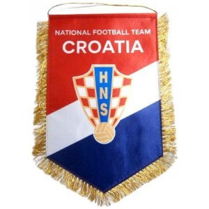 Вымпел национальной сборной Хорватии по футболу   большой