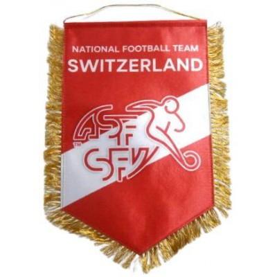 Вымпел национальной сборной Швейцарии по футболу   большой