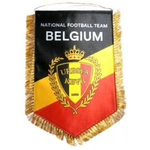 Вымпел национальной сборной Бельгии по футболу   большой