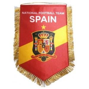 Вымпел национальной сборной Испании по футболу   большой