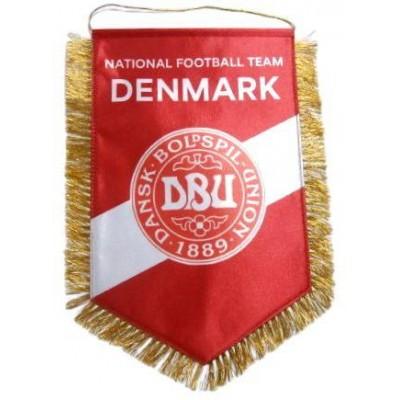 Вымпел национальной сборной Дании по футболу   большой