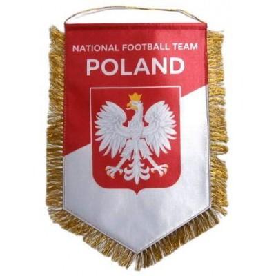 Вымпел национальной сборной Польши по футболу   большой