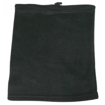 Флисовый бафф черный