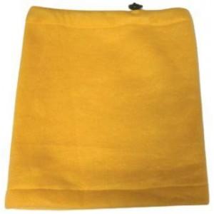 Флисовый бафф желтый