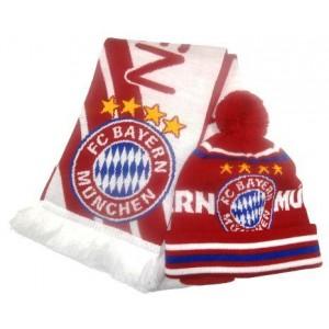 Набор шарф и шапка  ФК Бавария Мюнхен