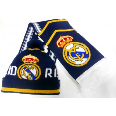 Набор шарф и шапка  ФК Реал Мадрид