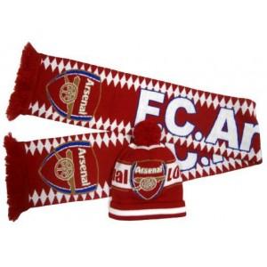Набор шарф и шапка  ФК Арсенал Лондон