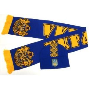 Набор шарф и шапка  Украина модель козак Тарас