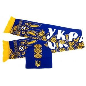 Набор шарф и шапка  Украина модель Петро
