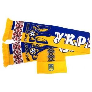 Набор шарф и шапка  Украина модель Марко
