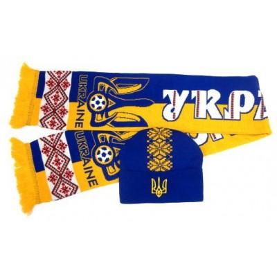 Набор шарф и шапка  Украина модель Андрей