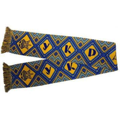 Шарф сборной Украины по футболу ковер