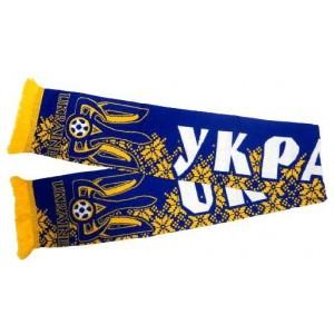 Шарф сборной Украины по футболу узор