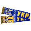 Шарф сборной Украины по футболу синий
