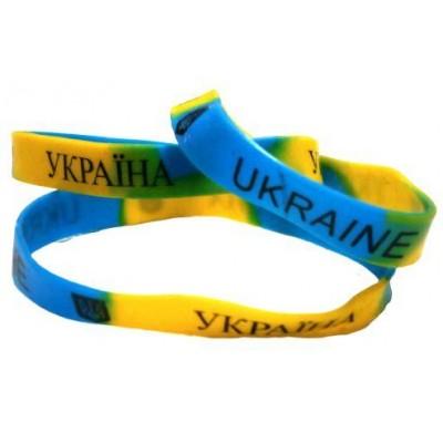 Браслет силиконовый Украина