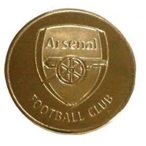 Сувенирная монета ФК Арсенал Лондон