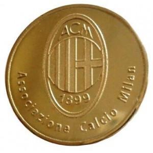 Сувенирная монета ФК Милан