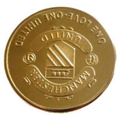 Сувенирная монета ФК Манчестер Юнайтед