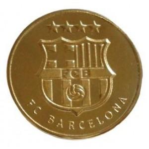 Сувенирная монета ФК Барселона