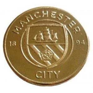 Сувенирная монета ФК Манчестер Сити