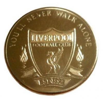 Сувенирная монета ФК Ливерпуль